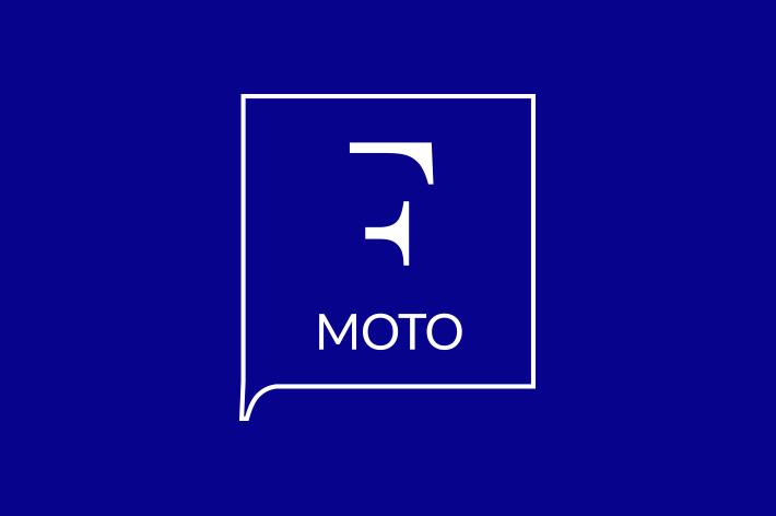 feeria moto cover blue